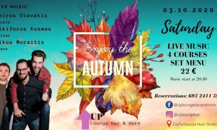 Enjoy the Autumn @ UP lounge bar and more | ΣΑΒ 03.10