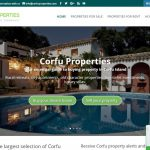 CorfuProperties.com – Προώθηση παραθεριστικής κατοικίας